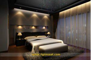 Yatak Odası Alçıpan Niş Asma Tavan Modelleri (8)